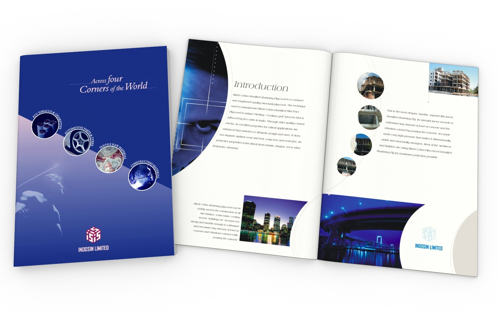 Brochure/ Catalog/ Company profile design for Indosin Group of companies