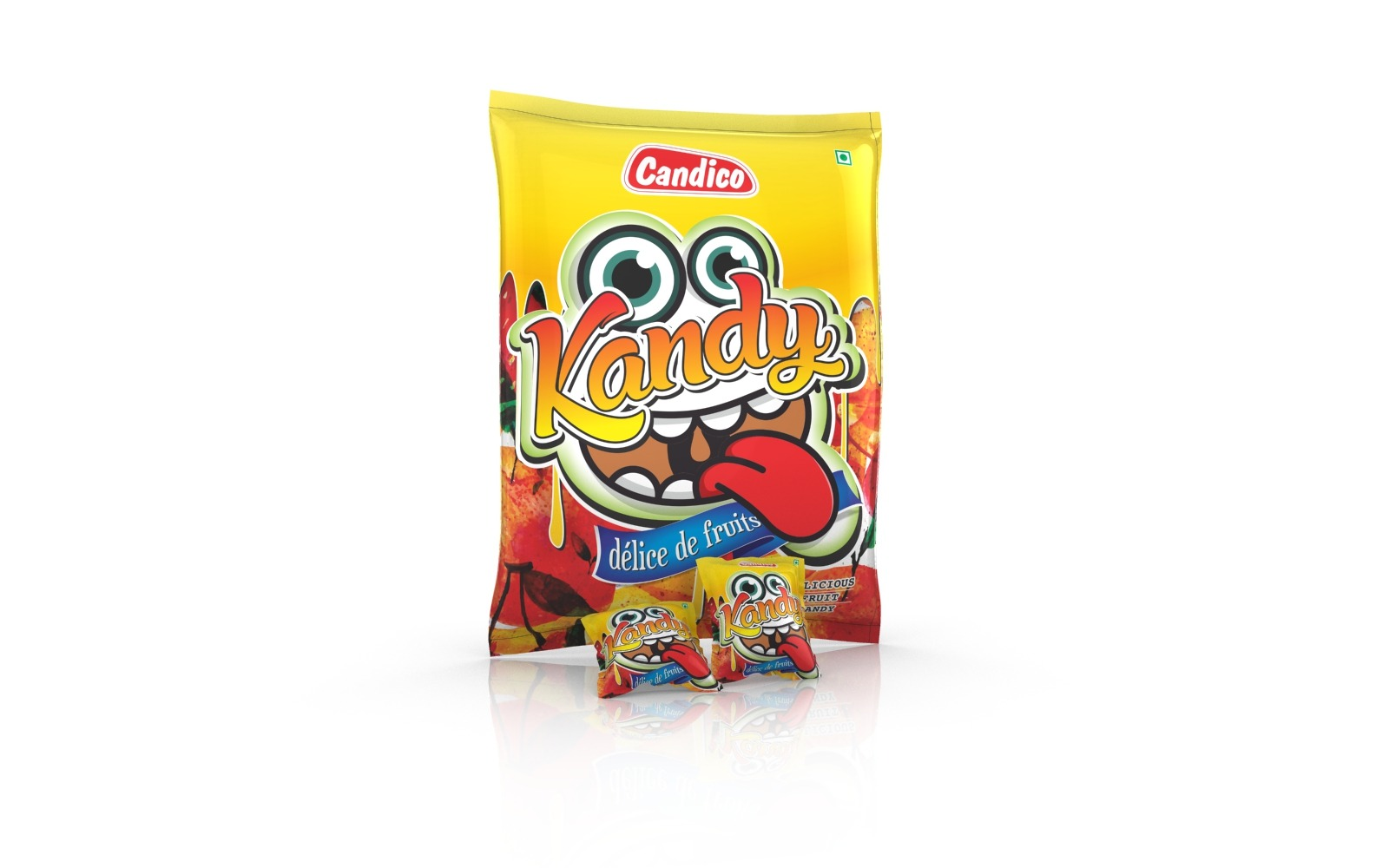 Candy/ Lollypop/ Sweets pouch & wrapper packaging design